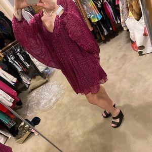 Diane Von Furstenberg silk mini dress size xs